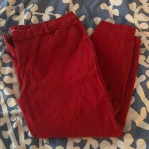 Old Navy Red Pixie Pant 18